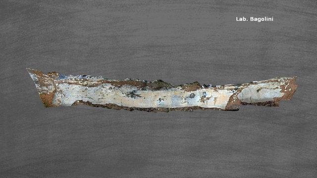 Pianaùra - lavagna intera 30x2.5 m circa 3D Model