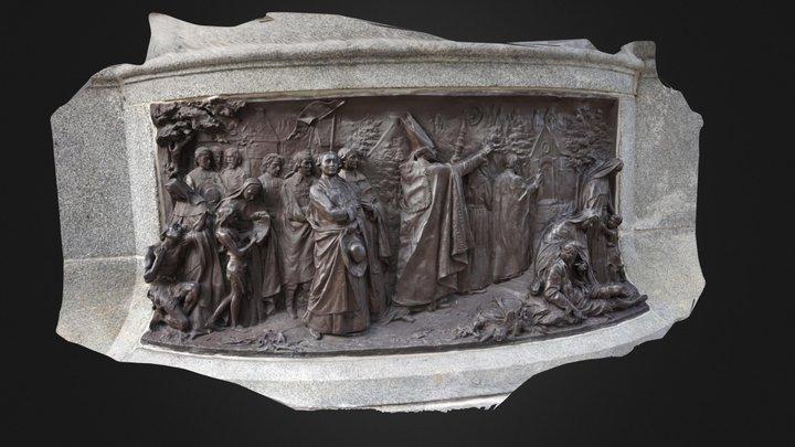 Bas-relief in Québec 3D Model