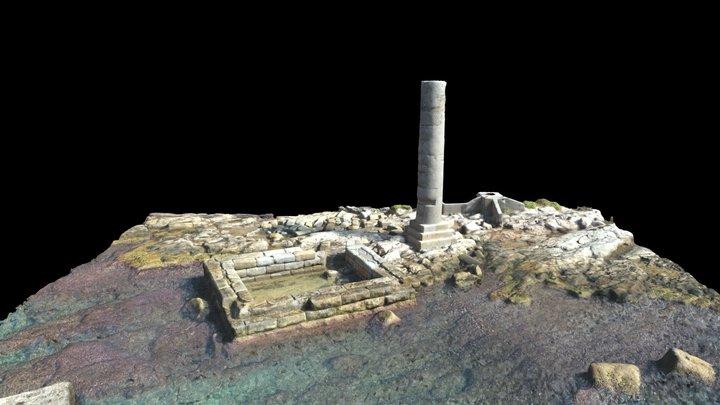 Tomb of Themistokles, Akte Peninsula 3D Model