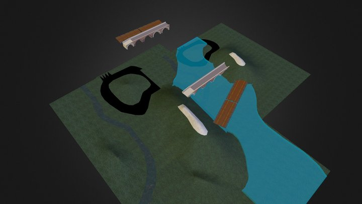 George's 4th Quarter Religion Project 3D Model