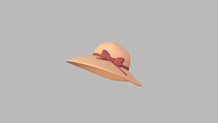 Summer Hat 3D Model