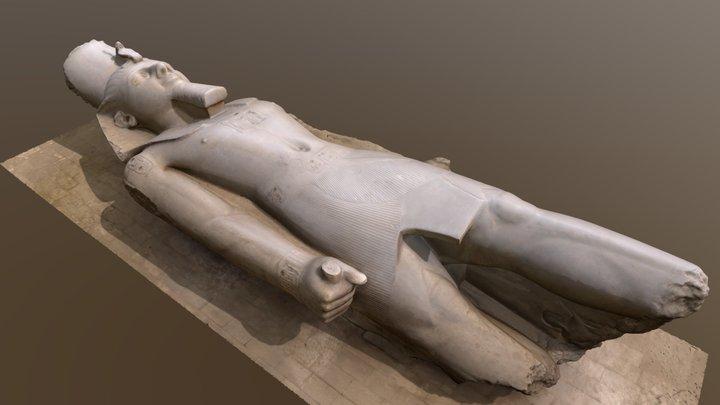 ラムセス2世の巨像(メンフィス) 3D Model