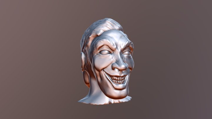 Dr Jekyll and Mr Hyde 3D Model