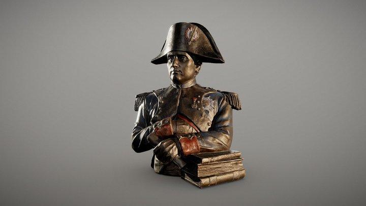 Napoleon Bonaparte Bust 3D Model