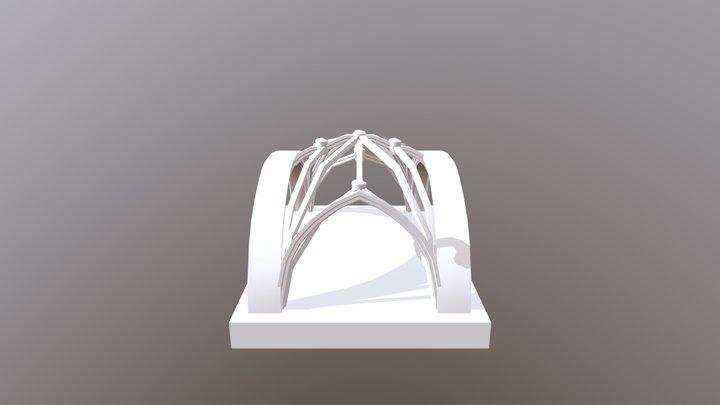 Bóveda nave principal Vistabella 3D Model