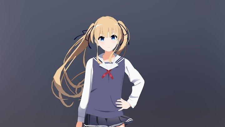 Sawamura Spencer Eriri 3D Model