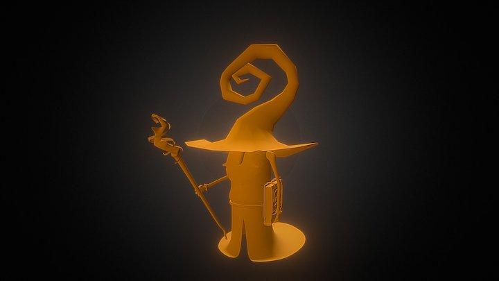 Wizard Rig Test 3D Model