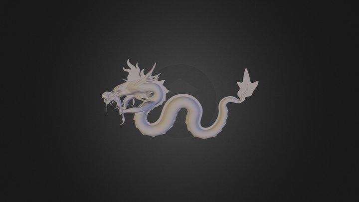 Dragon Cina 3D Model