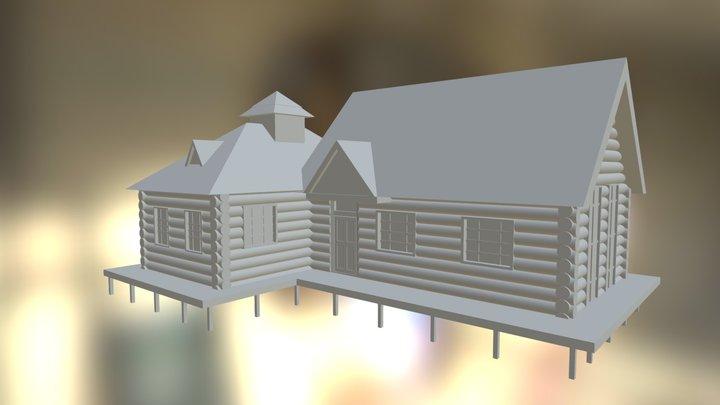 Sword Art Online Cabin 3D Model