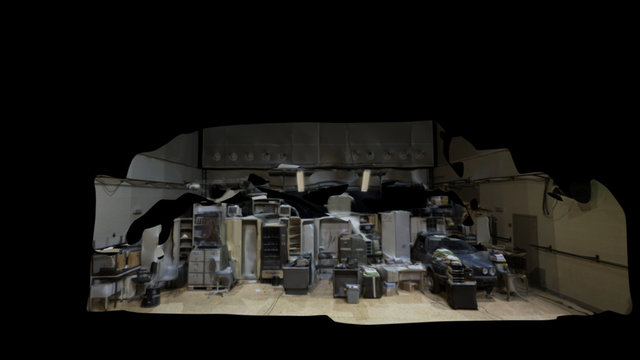 Le Grand Cirque - repetition Set 3D Model