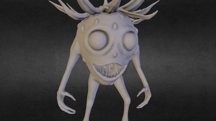 Monster Sculpt - Strawberry 3D Model
