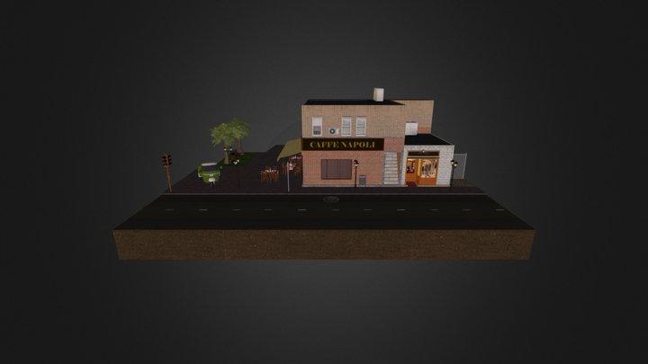 1DAE7_Blondeel_Kevin_CityScene 3D Model