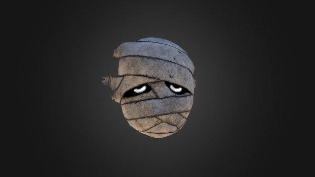 Gibdo Mask 3D Model