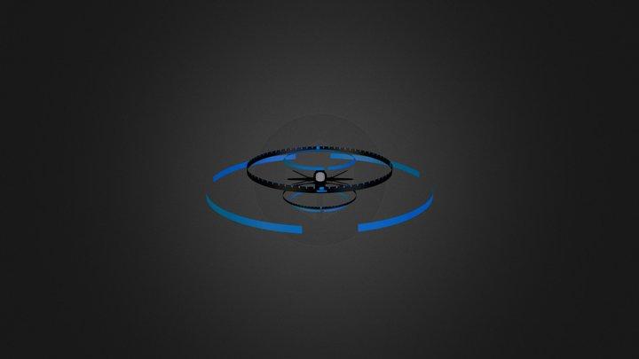 EUSN scoutfighter 3D Model