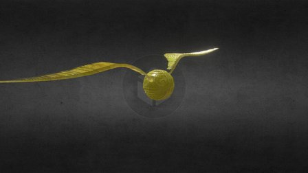 Snitch - Harry Potter 3D Model