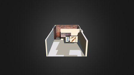 garage + cour 3D Model