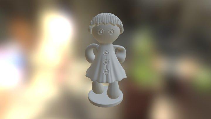 Doll 3D Print 3D Model