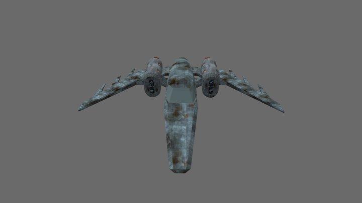 New Ship V1 Textured 2019 3D Model
