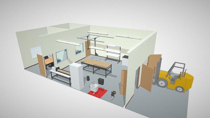 Joint Inspection Laboratory 3D Model
