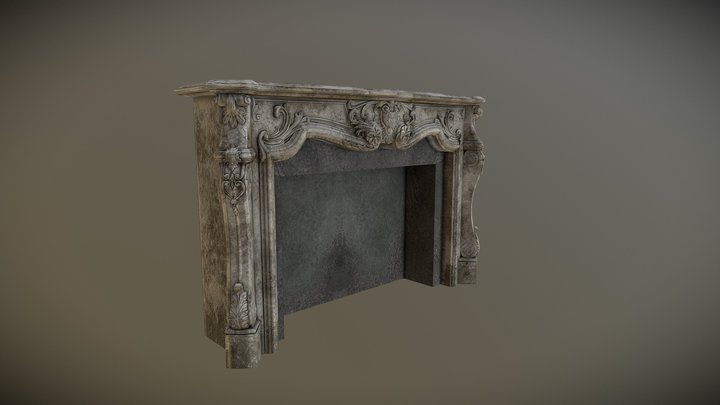 Fireplaces 3D Model