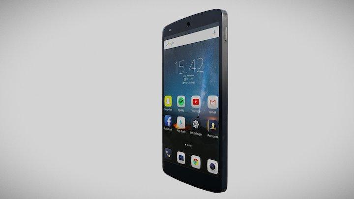 Andriod Phone 3D Model