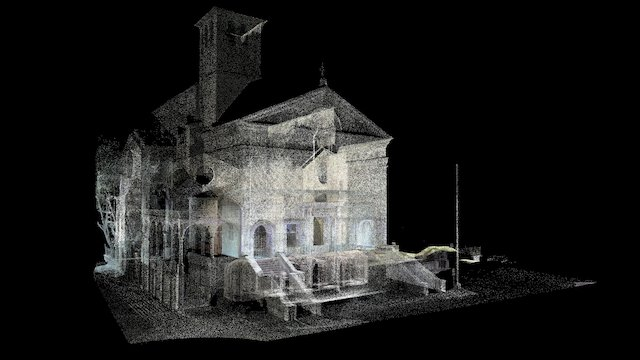 San Sebastiano, Mantua 3D Model
