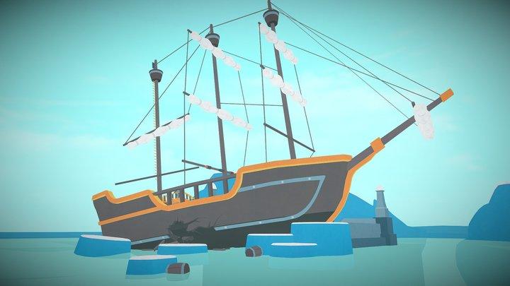 Faraway 3: Arctic Escape 3D Model