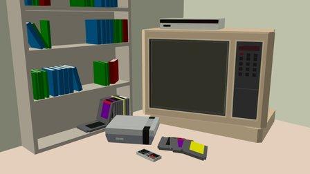 Nintendo Days 3D Model