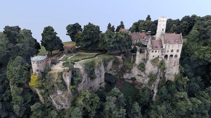 Burg Lichtenstein 3D Model