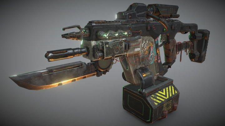 Vector Draconic Burst 3D Model