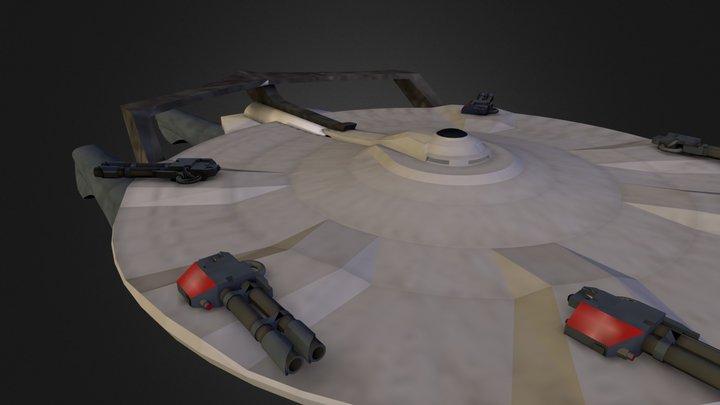 Miranda-class 3D Model