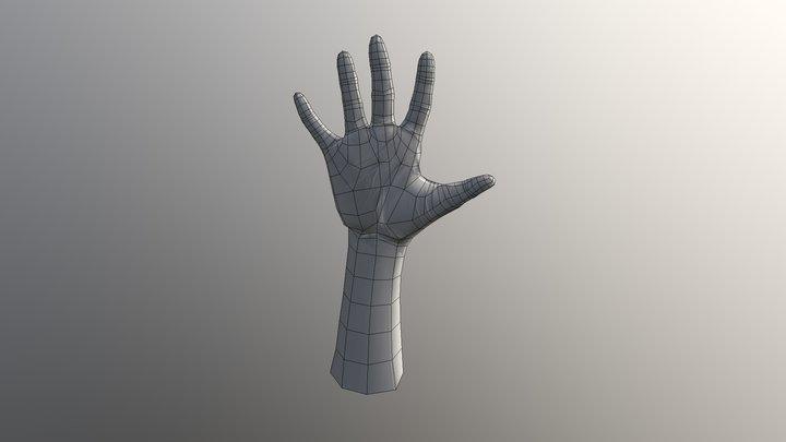 A03_Hand_model_sculpt 3D Model