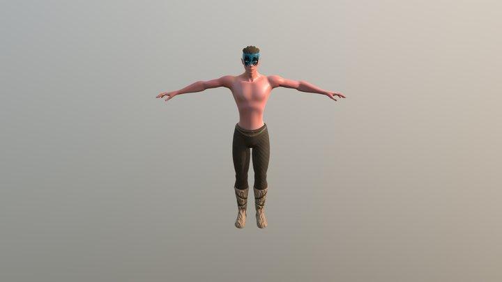 Character Teo Lichtasker v2 3D Model