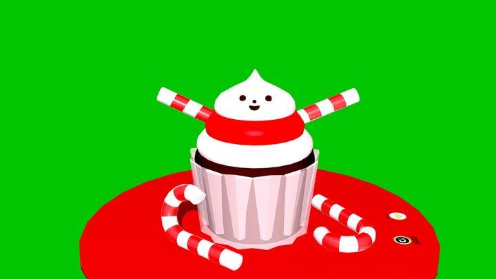 Cupcake Cutie 3D Model