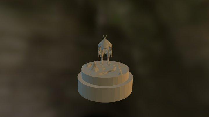 Zbrush Sculpt - Chimera Study - Deepstalker 3D Model
