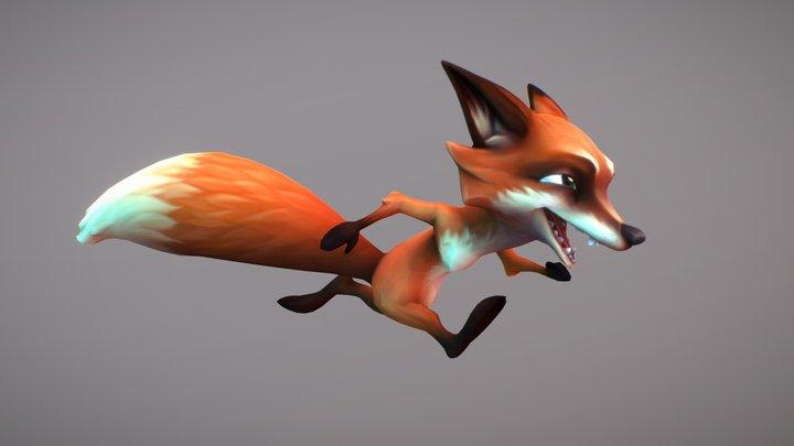 Forest Animal: Fox 3D Model