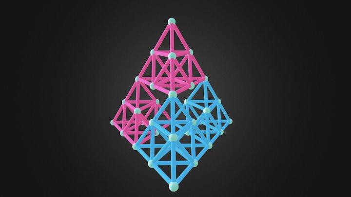 Sierpinski Tetrahedron 3D Model