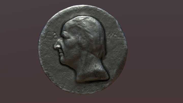 Old coin 3D Model