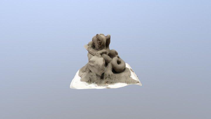 Lézard 02 3D Model