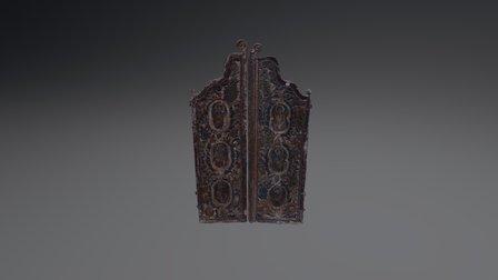 Porta imparateasca - Nicula 3D Model