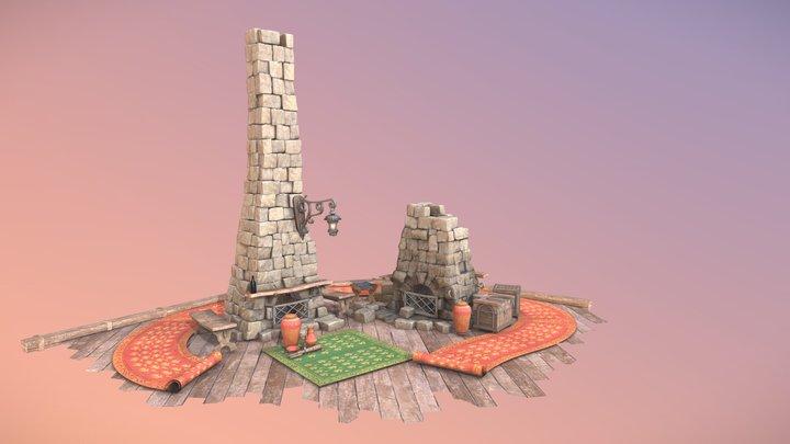 Old furnaces 3D Model