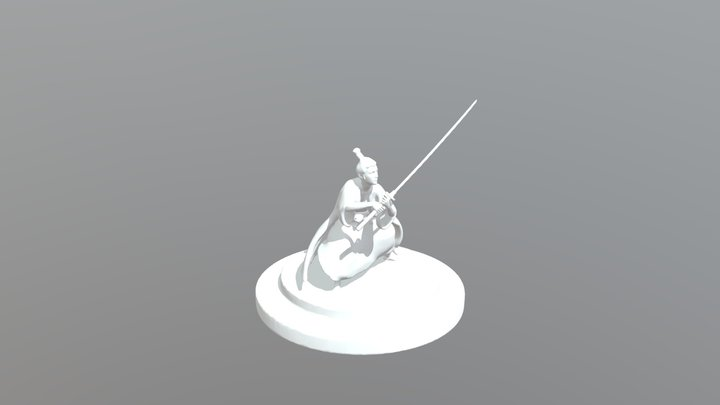 Dancer Miniature For Print 3D Model