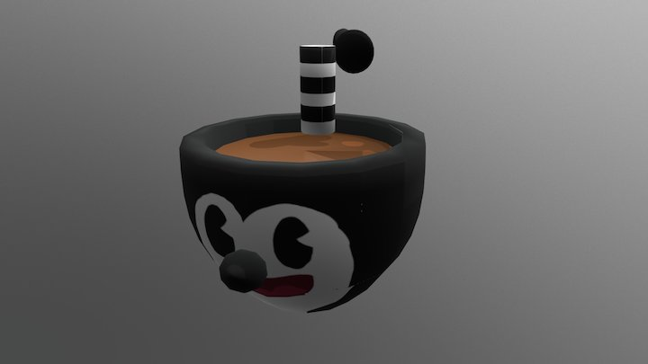 Cup Mickey 30´s 3D Model