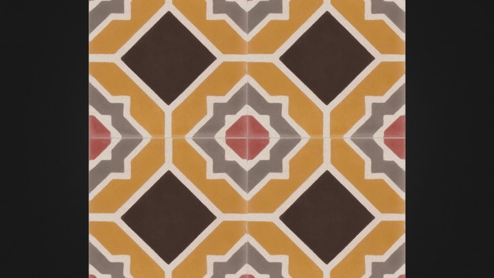 Lucas- Moroccan tile 3D Model