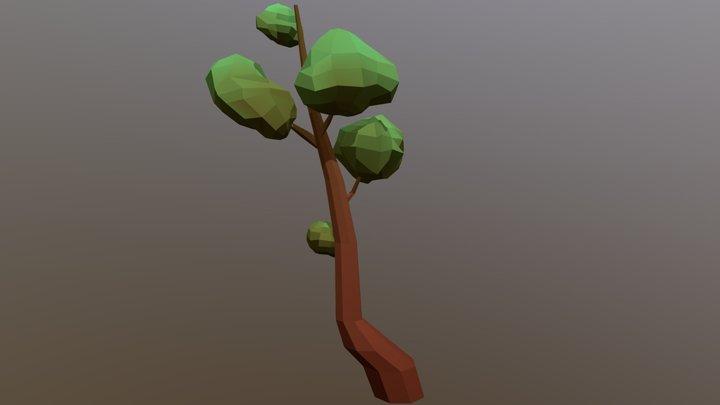 Low-Poly Tree 4 3D Model