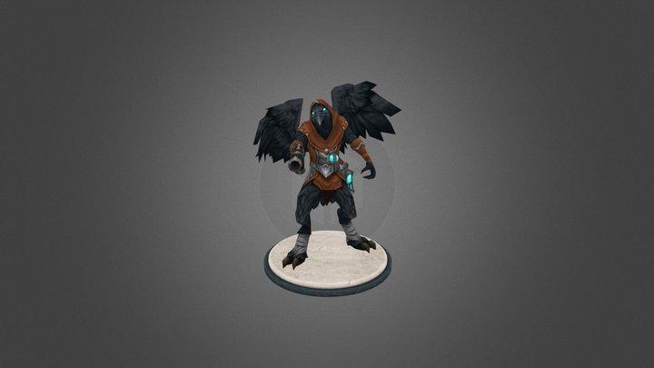 Aviak Crow 3D Model