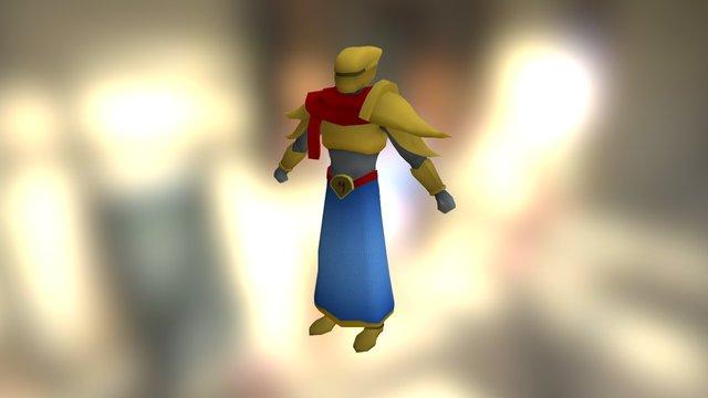 Karakter Test 3D Model