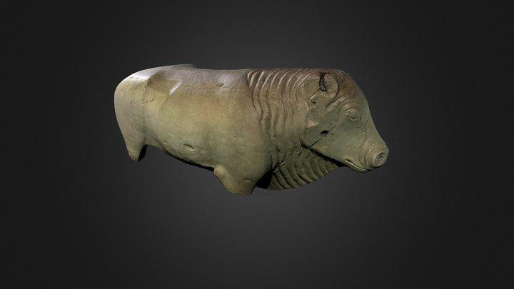 Toro Ibero de Arjona 3D Model
