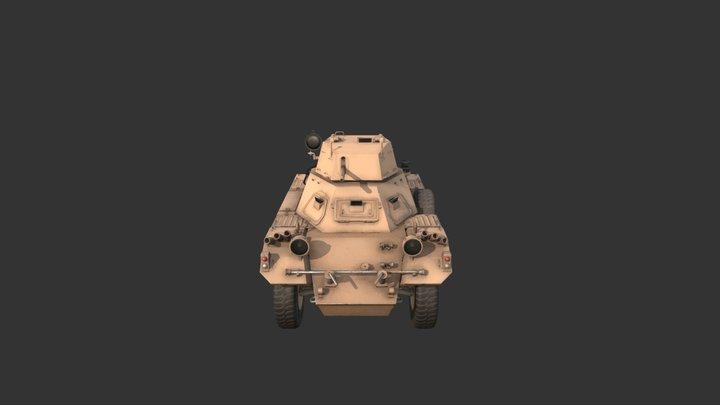 Ferret Scout Car 3D Model
