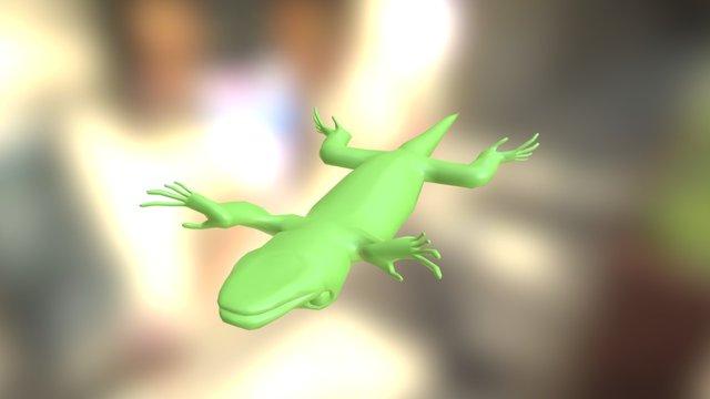 Dead Lizard 3D Model